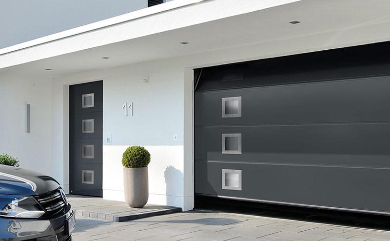 Porte de garage sectionnelle h rmann 75005 paris home for Fichet porte de garage