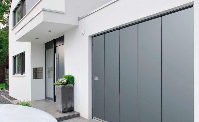 Porte de garage sectionnelle latérale Hörmann Paris