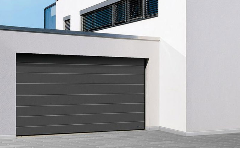 Porte de garage novoferm home garde protection point fort fichet paris - Porte sectionnelle novoferm ...