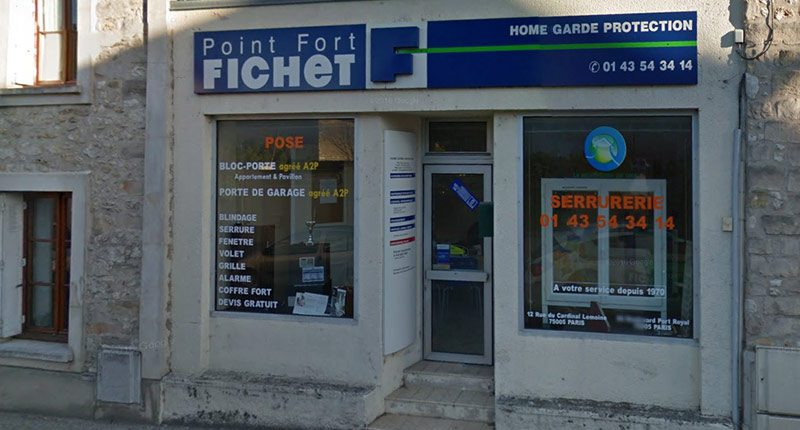 Point fort fichet 77 home garde protection a thomery for Point fort fichet