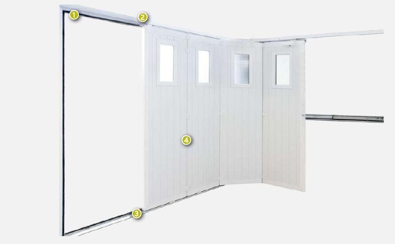 Porte de garage Fichet