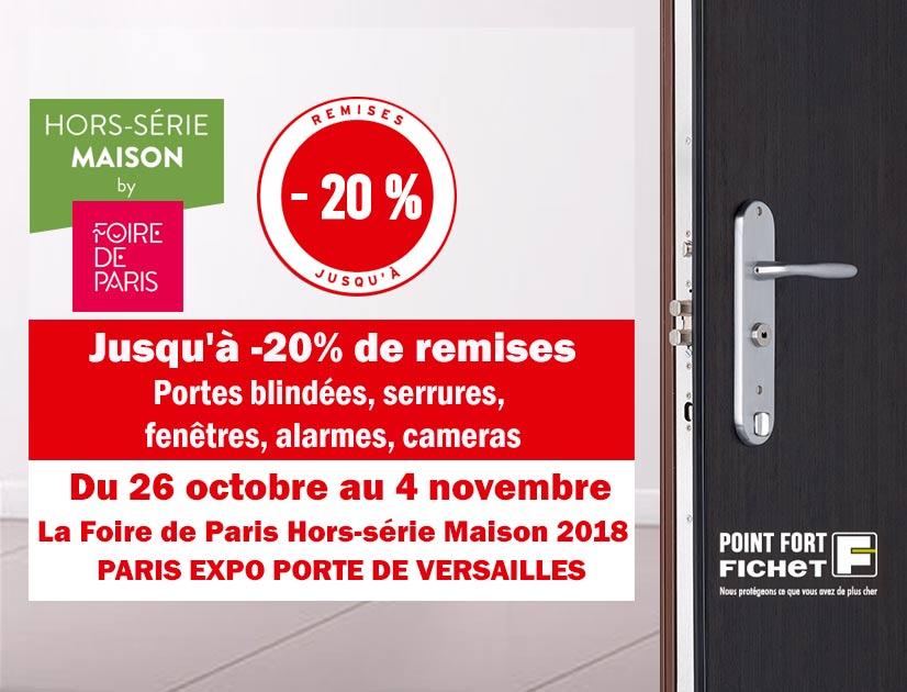 jusqu 39 20 de remise sur les portes blind es promo hors s rie maison. Black Bedroom Furniture Sets. Home Design Ideas