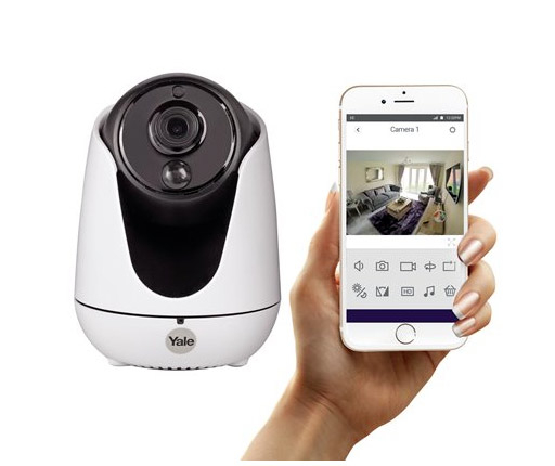 camera-wifi-yale-smart-living-Camera-IP-motorisee-720p
