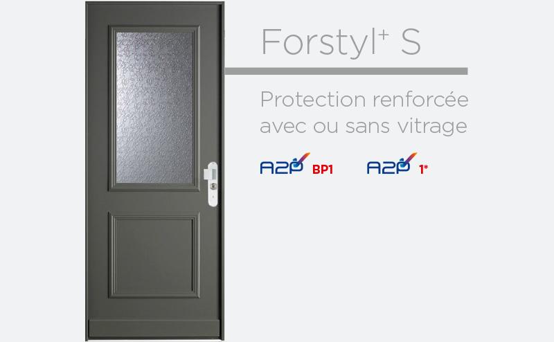Porte blindée à Paris Fichet Forstyl+ S