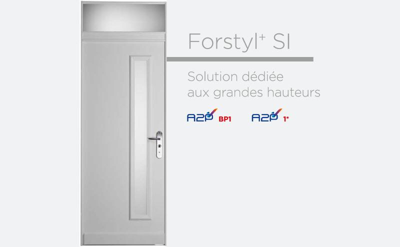 Porte blindée à Paris Fichet Forstyl+ SI