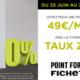 Porte blindée Fichet à 49€/MOIS* avec le financement à Taux Zéro