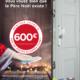 Remise jusqu'à 600 euros sur les portes blindées fichet à Paris
