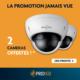 2 caméras Daitem offertes pour un système d'alarme Daitem installé, du 15 juin au 31 juillet 2020